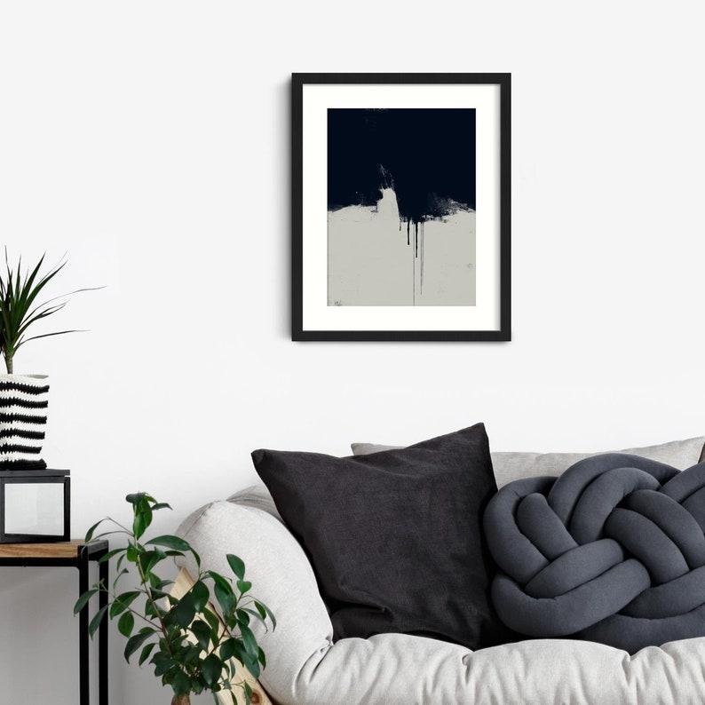 Dark Abstract Art Framed Abstract Wall Art Prints Abstract image 0