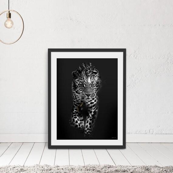 Leopard Print Wall Art Photographic Print Leopard Prints | Etsy