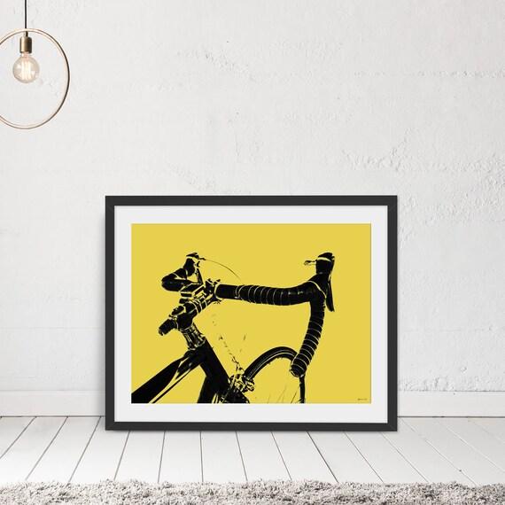 Cycling Wall Art Wall Art Cycling Print Bike Print Cycling | Etsy