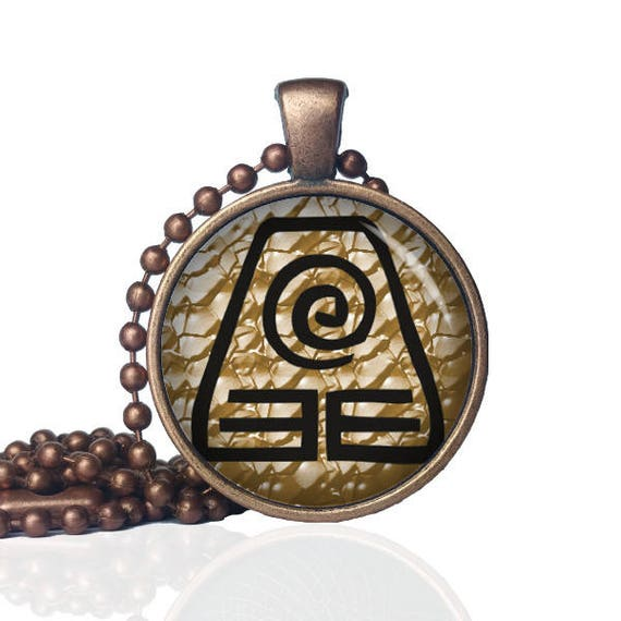 Earth Element Symbol Dirt Jewelry Dirt Necklace Soil Etsy