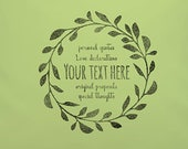 YOUR TEXT on this beautif...