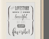 Love declaration Art prin...