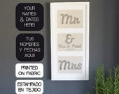 Mr & Mrs name and date pe...