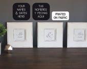 Mr & Mrs personalized Art...