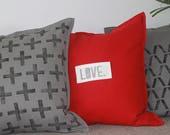 Love declaration pillow, ...