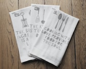 Quote print Tea Towels vi...
