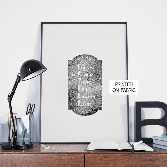 Père - pape! Plaque avec la phrase montrant votre amour et admiration pour ton papa. Anniversaire original ou cadeau de fête des père