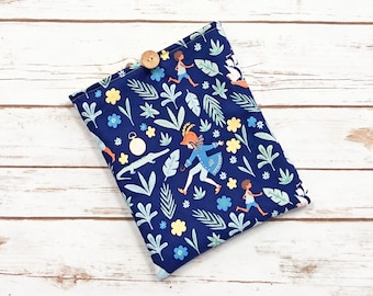 Peter Pan Book Sleeve with Pockets
