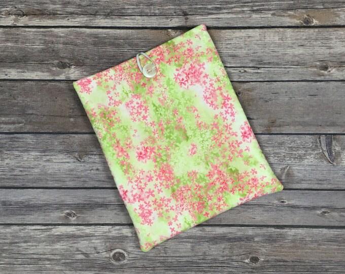 Springtime Flora Book Sleeve