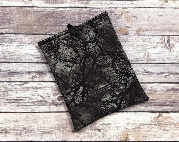 The Heart of The Woods Book Sleeve with Pockets