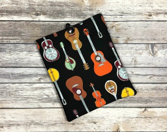 1, 2, 3, Hit It Book Sleeve with Pockets