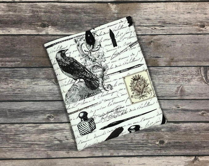 Nevermore Book Sleeve with Pockets