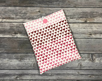 Hello, Sweetheart Book Sleeve with Pockets