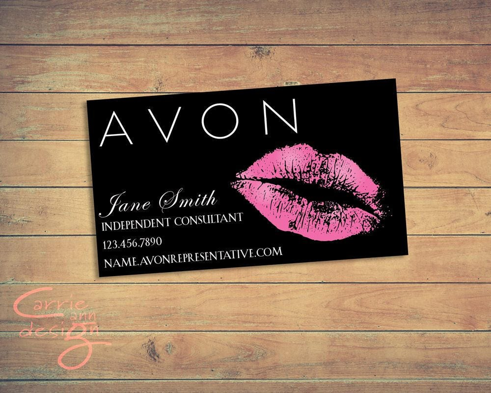 zoom - Avon Business Cards