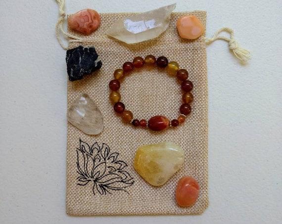 Sacral Chakra Meditation Set