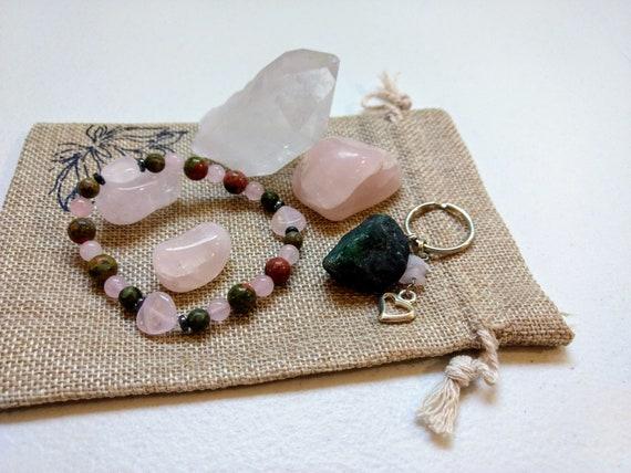 Heart Chakra Meditation Set