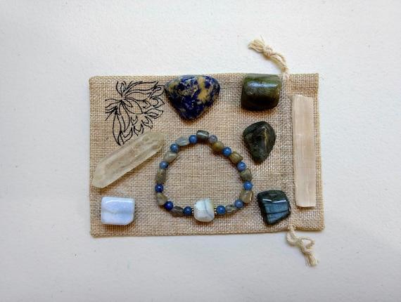 Throat Chakra Meditation Set