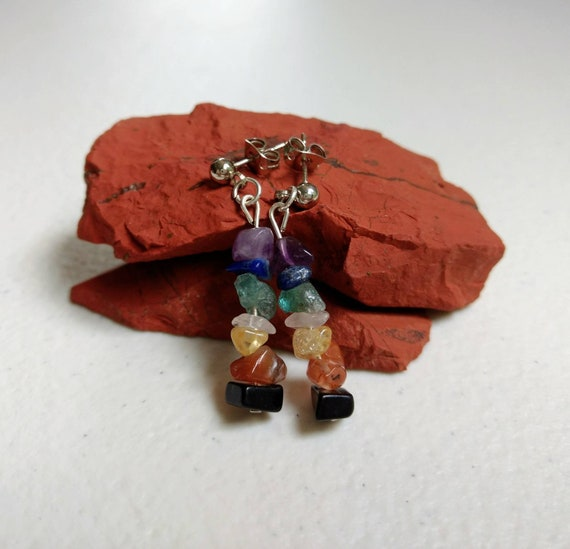 Rainbow Chakra Balancing Earrings