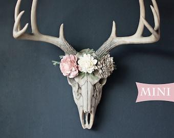 Deer Skull Etsy