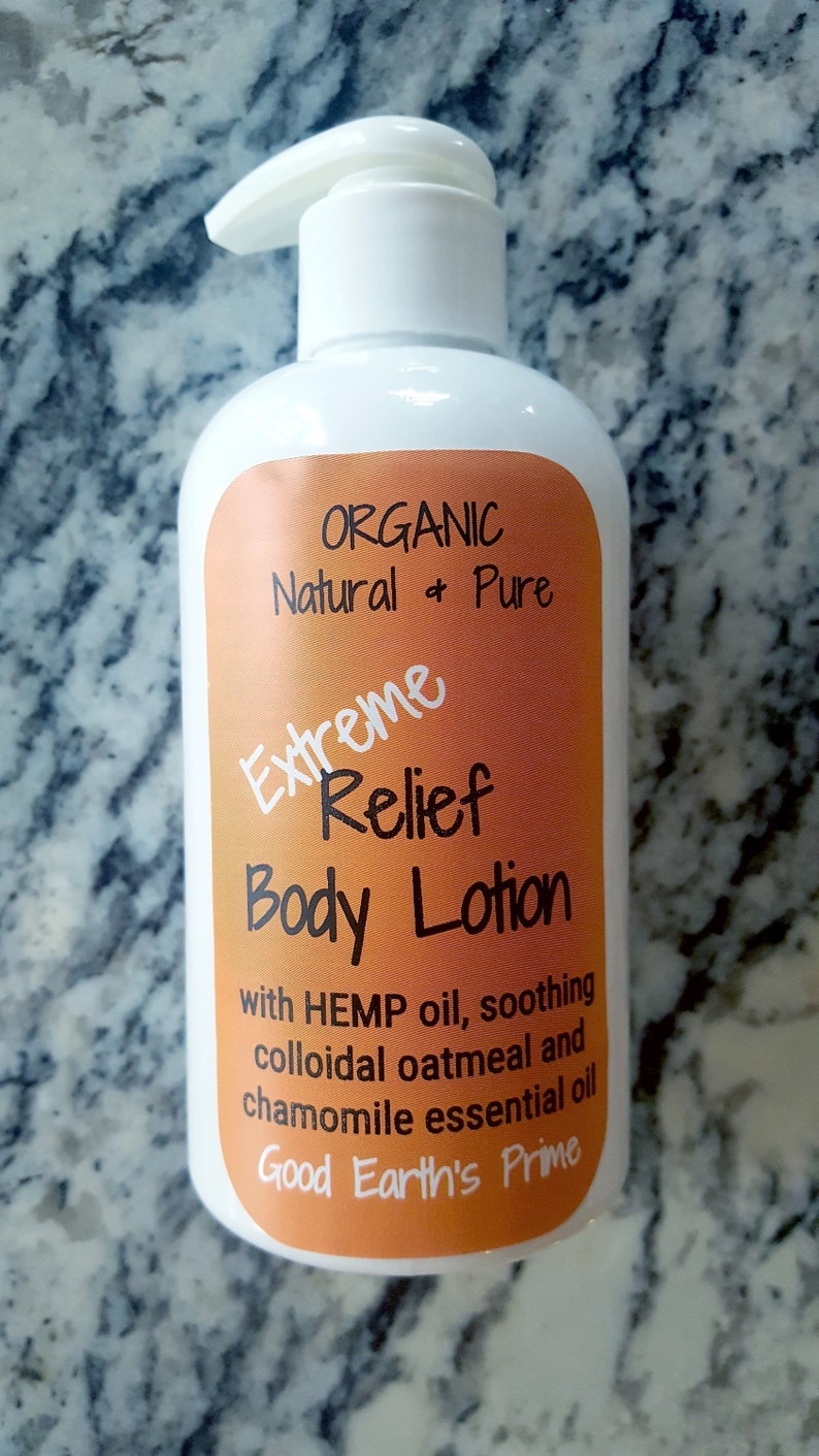 Dry Cracked Hand Lotion for body and hands, extreme relief lotion, 8 oz  pump OR 4 oz flip top