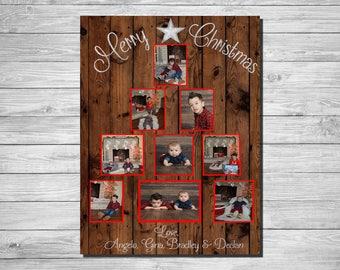 Photo Tree Christmas Card