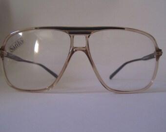 e2e78cfc1362 Vintage eyeglasses frame frames Safilo 189 441 130 80 new year Sporting  Italy