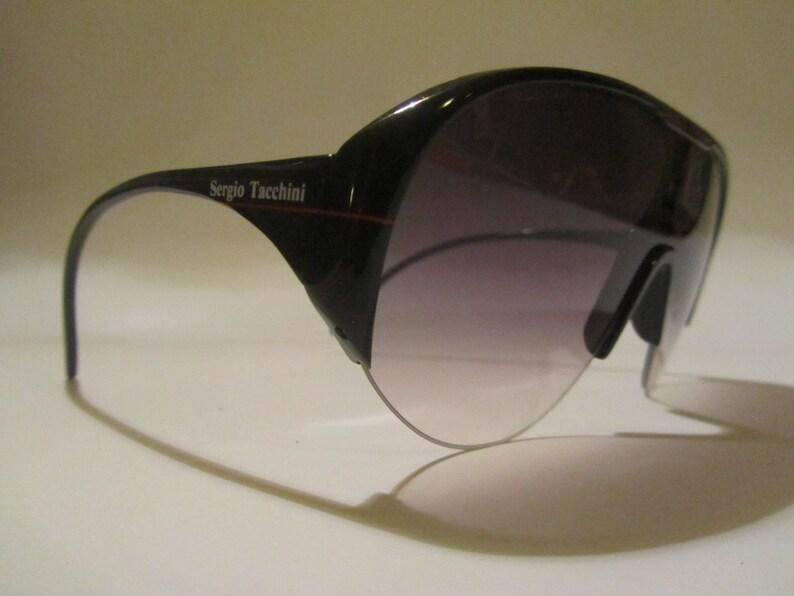 fbf355f61b69 Sun mask sunglasses vintage Sergio Tacchini Hand Made 80 90