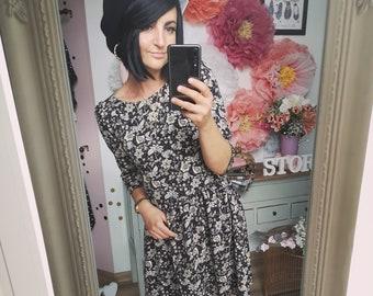 Braunes Kleid Etsy