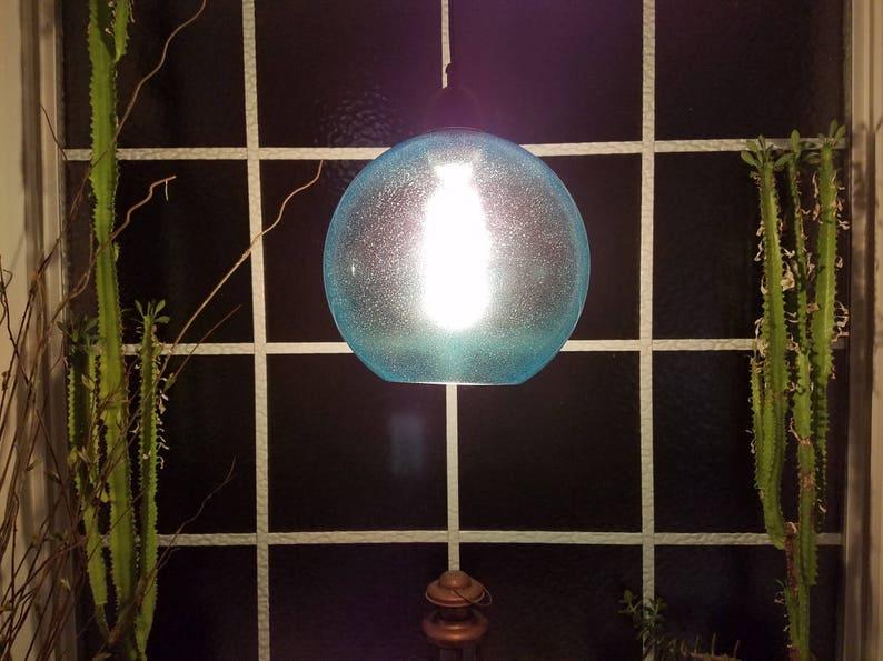 Aqua Globe Ceiling Light Pendant Hanging Lamp Modern Pendant IqSy1Mjd