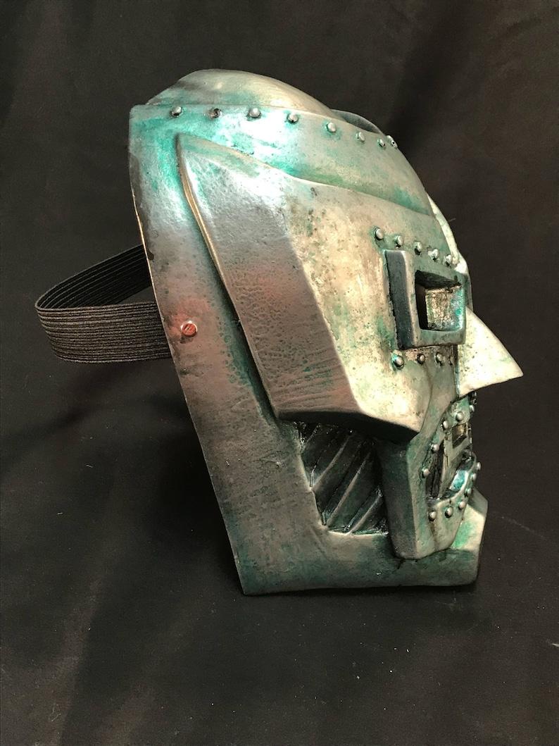Doctor Doom resin face mask