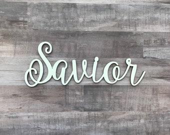 "Savior - Laser Cut 1/8"""