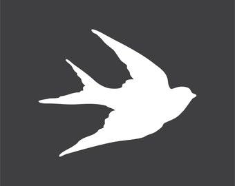 "Bird  Silhouette Variety Pack of 45 - Laser Cut 1/8"" Wood"