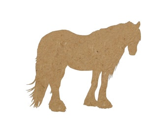 Horse Silhouette/Design 22/Unfinished wood cutout/DIY craft cutout/Multiple sized cutout/Wood craft shapes/craft wood cutouts/wood blanks