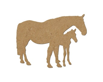 Horse Silhouette/Design 28/Unfinished wood cutout/DIY craft cutout/Multiple sized cutout/Wood craft shapes/craft wood cutouts/wood blanks