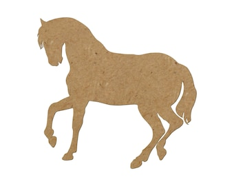 Horse Silhouette/Design 1/Unfinished wood cutout/DIY craft cutout/Multiple sized cutout/Wood craft shapes/craft wood cutouts/wood blanks