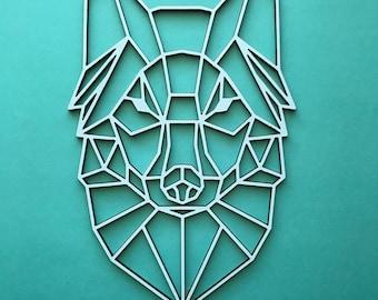 Geometric Animal and Shape wood cutouts