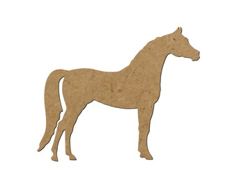 Horse Silhouette/Design 21/Unfinished wood cutout/DIY craft cutout/Multiple sized cutout/Wood craft shapes/craft wood cutouts/wood blanks