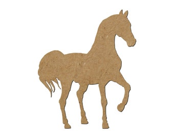 Horse Silhouette/Design 26/Unfinished wood cutout/DIY craft cutout/Multiple sized cutout/Wood craft shapes/craft wood cutouts/wood blanks