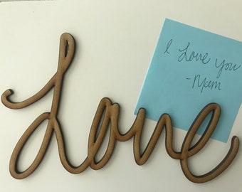 Handwriting cutout, single word keepsake,  Laser handwriting, keepsake treasures, keepsake gifts,  children's keepsake, Heirloom gift