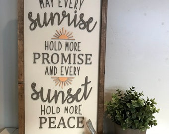 Sunrise and Sunsets Lettering For Sign Laser SVG Cut File for Glowforge Epilog Projects Laser Cutting Download