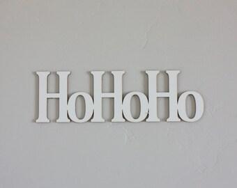 """HOHOHO - Laser Cut 1/8"""""""