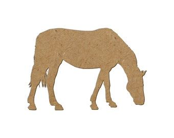 Horse Silhouette/Design 8/Unfinished wood cutout/DIY craft cutout/Multiple sized cutout/Wood craft shapes/craft wood cutouts/wood blanks