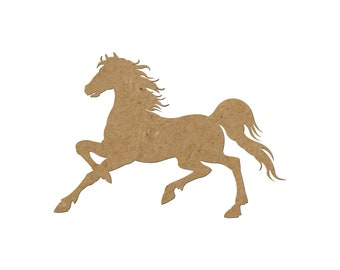 Horse Silhouette/Design 19/Unfinished wood cutout/DIY craft cutout/Multiple sized cutout/Wood craft shapes/craft wood cutouts/wood blanks