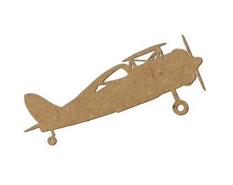 Airplane Silhouette/Design A/Unfinished wood cutout/DIY craft cutout/Multiple sized cutout/Wood craft shapes/craft wood cutouts/wood blanks
