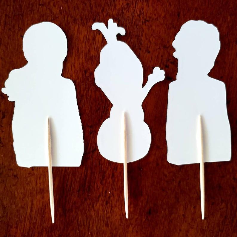 Frozen 2 Cupcake Toppers Disney Frozen 2 Cake Pop Toppers Disney Frozen 2 Cupcake Picks DISNEY FROZEN 2 Cupcake Toppers Frozen 2