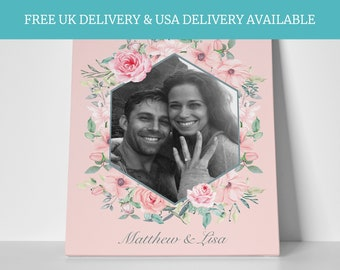 Personalised welcome to the wedding sign mr and mrs wedding fairytale decor rose