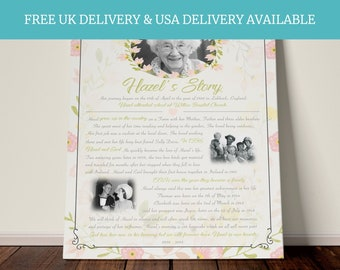 In Heaven, Memorial Print, In Loving Memory, Remembrance Gift, Memorial Photo Gift, Mum In Heaven, Sympathy Gift, Mom in heaven