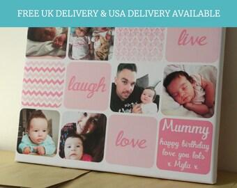Personalised Mother's Day Present / Custom Home print / Gift for mum / Mother's Day print / Mothers Day gift / Mum's birthday