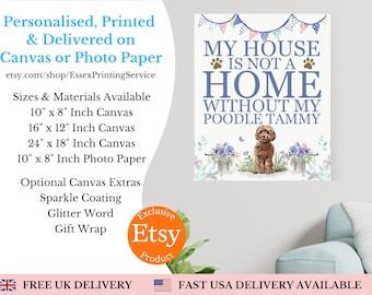 Family Dog Portrait, Custom dog owner gift, Dog Portrait Family, Personalised Gift, Personalised Pet Print, Pet Gift, Dog Lover Gift