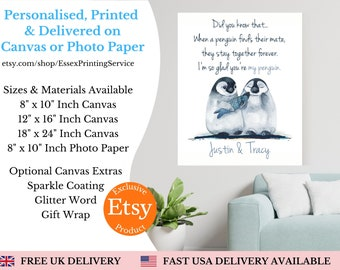 Personalised print / couple print / gift for him / her / personalised friend gift / personalised digital print / Friendship print / family